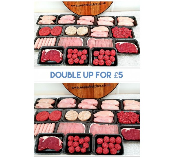 Rendalls Double up for a fiver meat pack