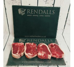 Double Loin 4 Pack Scottish Lamb Chops
