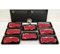 8 x 200g  Aberdeen Angus Scottish Sirloin Steaks