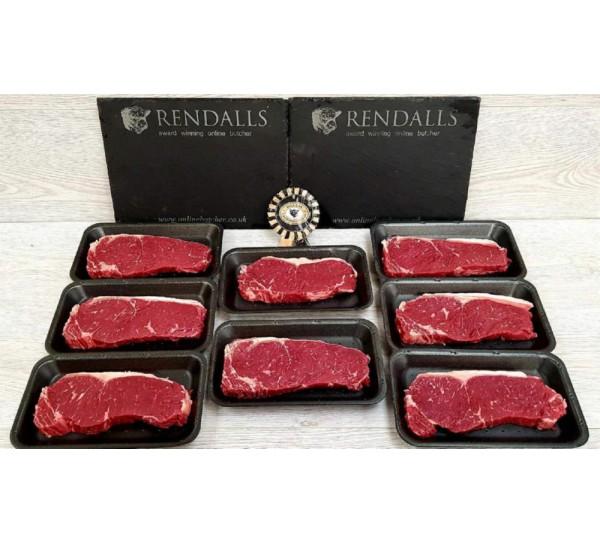 8 x 200g UK Sirloin Steaks