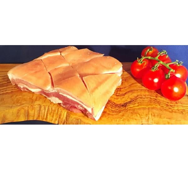 Pork Belly Skin On