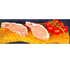 Pork Loin Chops Boneless (2 pack) 400g