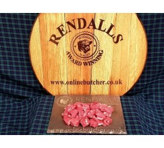 Rendalls Gold Scotch Hand Diced Beef Stewing Steak