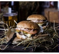 NEW! Rose Veal & Black Pepper Burgers (2 in a 220g Pack)