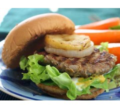 Gluten Free Sweet Apple Pork Burger 4 pack