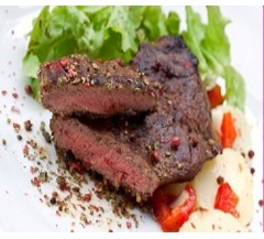 2 Rose Veal Tenderloin Fillet Steaks (250g)