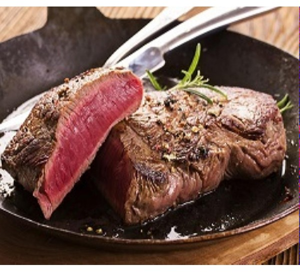 2 Buffalo Rump Steaks (250g)