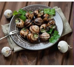 Snails in Garlic Butter (12 in a Pack 125g)