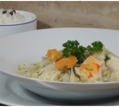 450g South African Seafood Chowder with Basmati Rice