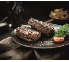 2 Buffalo & Beef Tomato & Basil Burgers (220g)