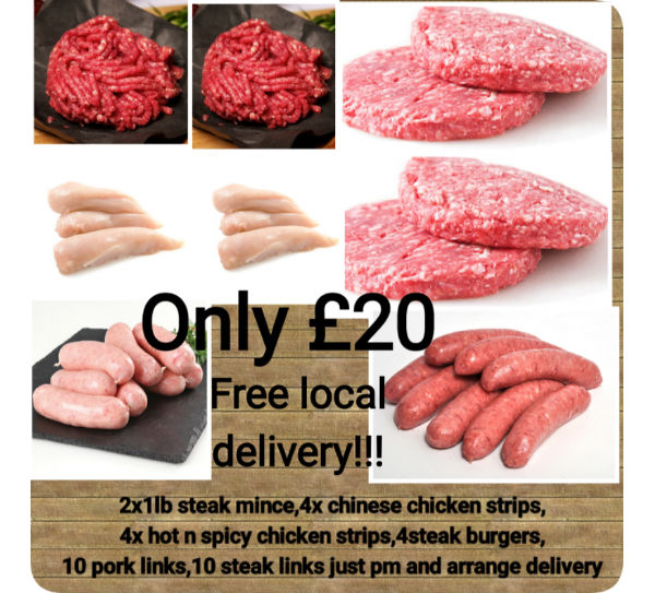 £20 Special Meat Pack