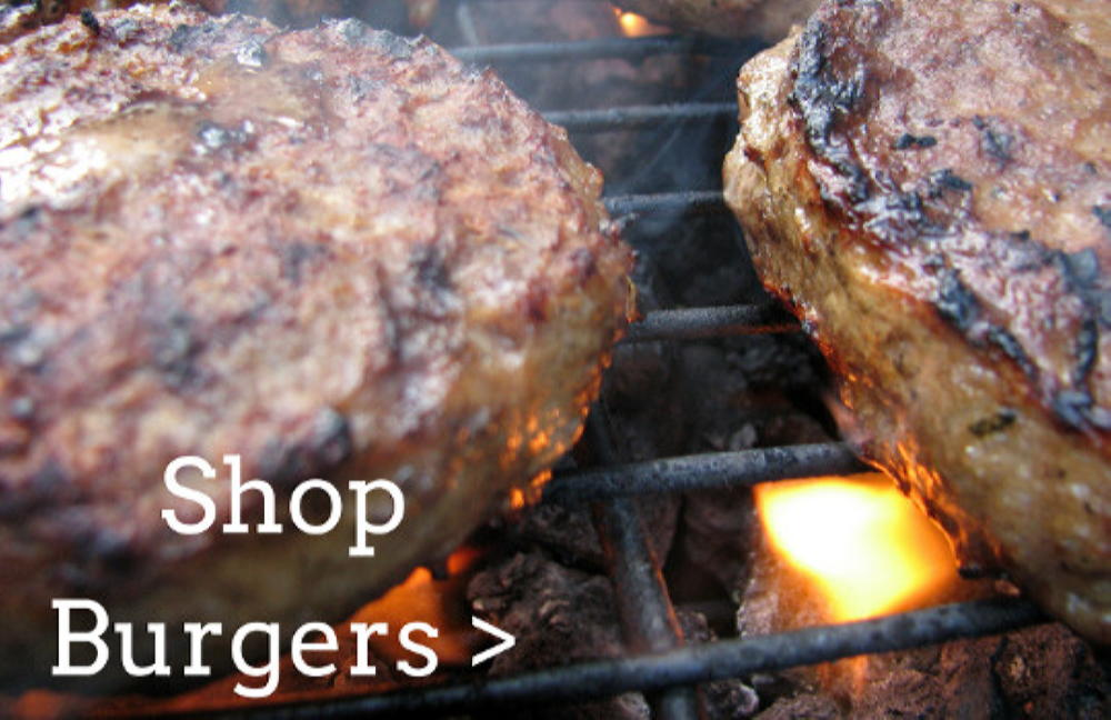Shop Burgers with Rendalls Online Butcher